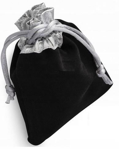 PW-NI Opakowanie welurowe czarne 100x125mm