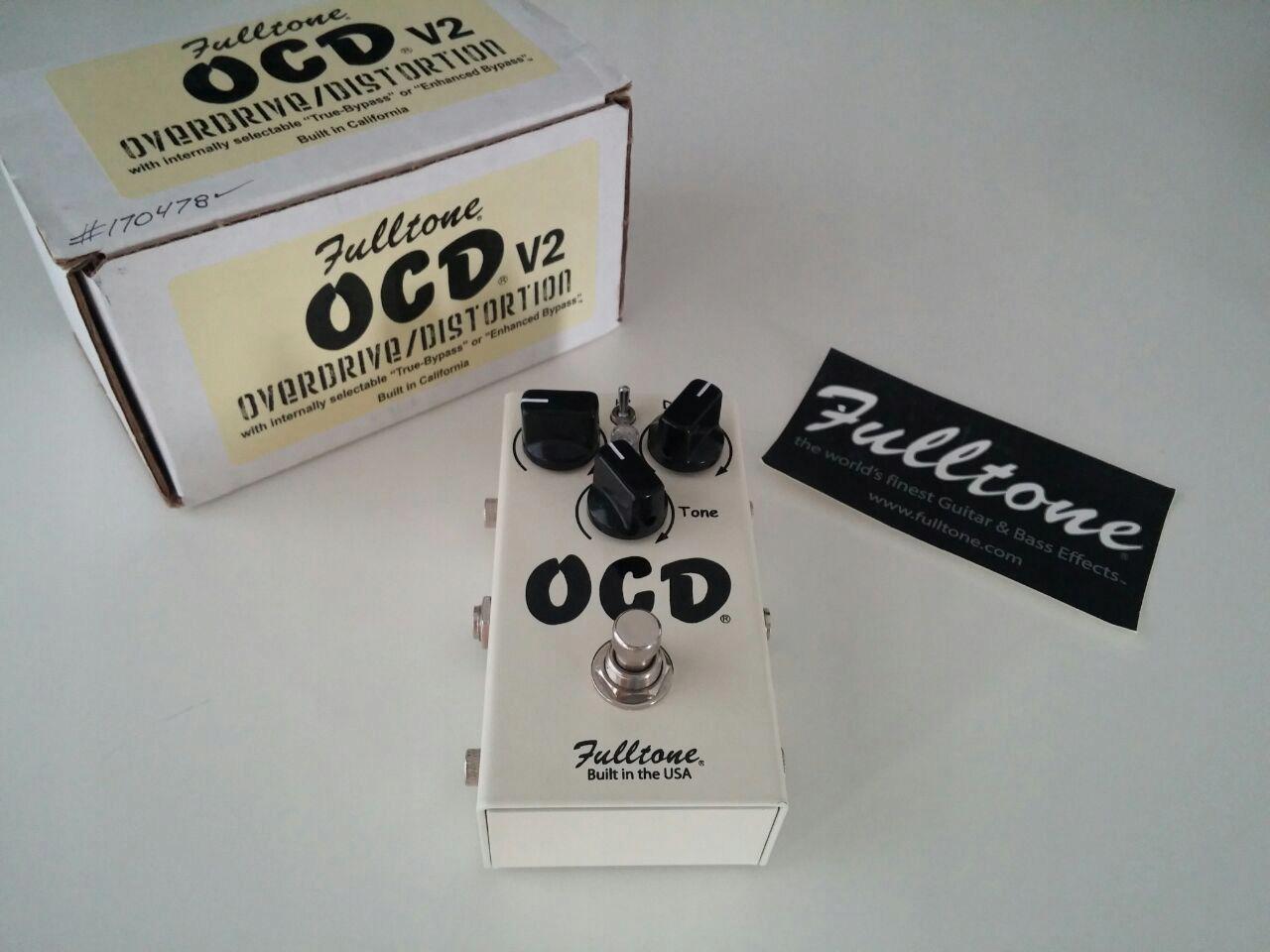Fulltone OCD - Obsessive Compulsive Drive V2