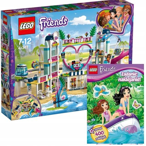 Lego Friends 41347 Kurort W Heartlake Książka 7407036024