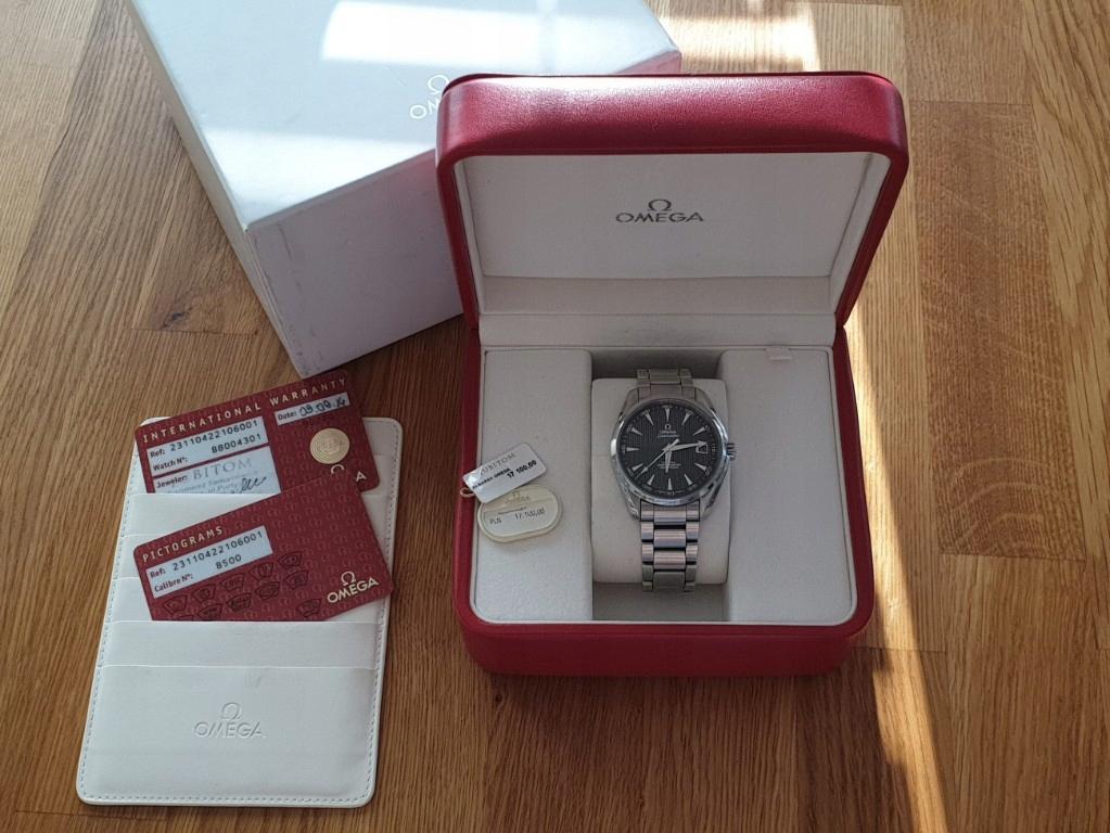 Zegarek Omega Aqua Terra 41.5