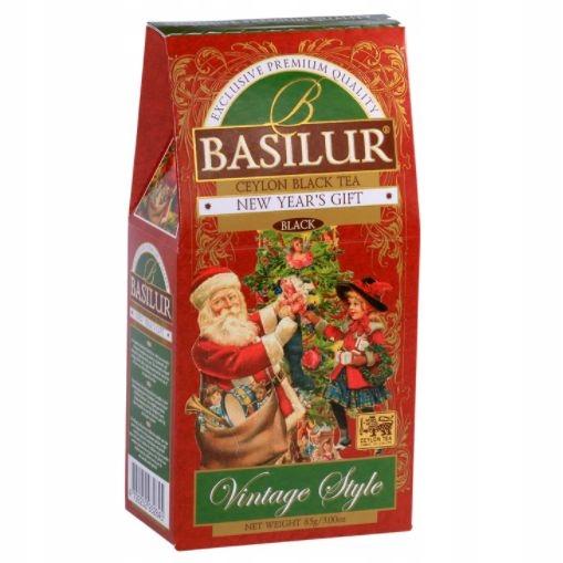 Herbata Basilur New Years Gift, wiśnia migdały