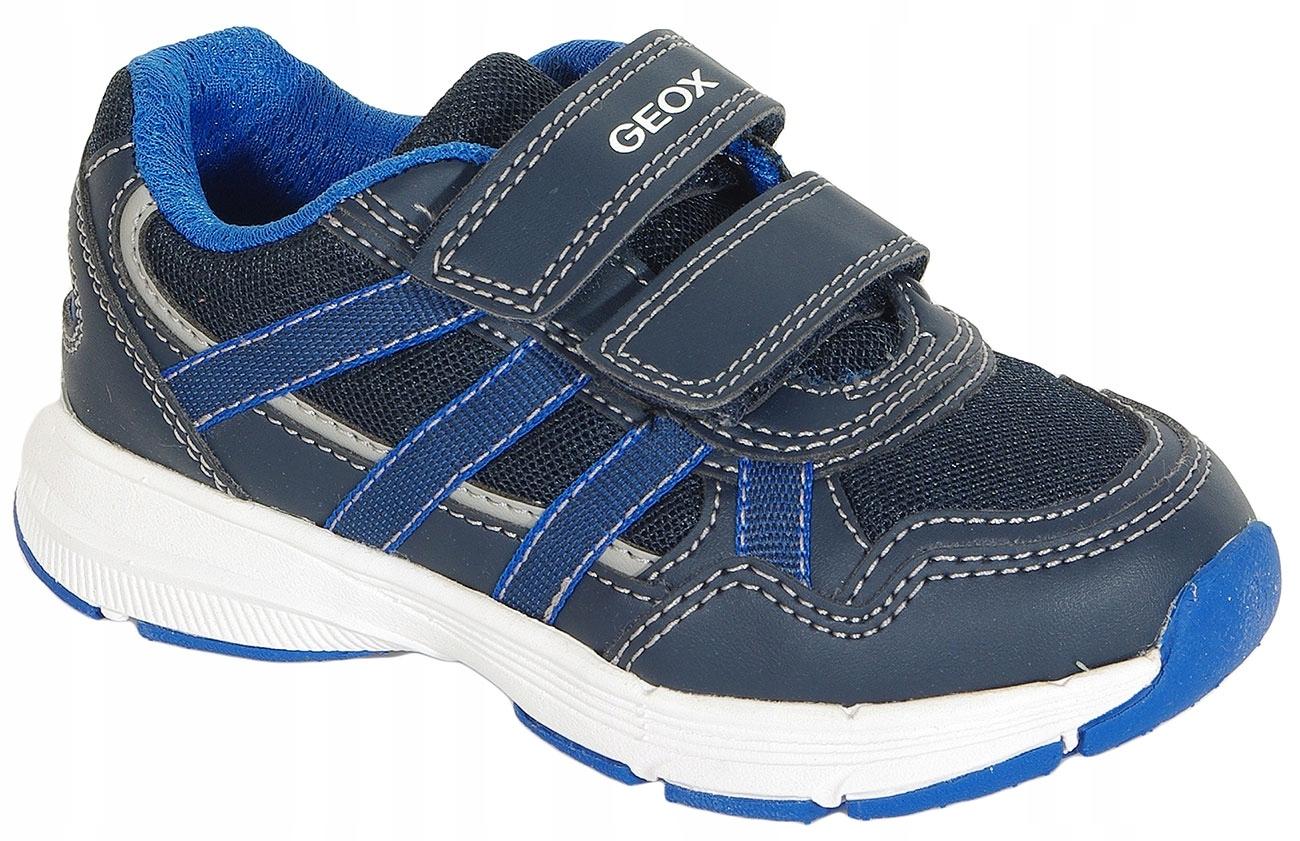 GEOX Hoshiko A sneakers mesh+geobuck navy/royal 28