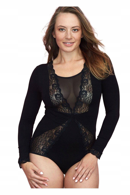 Gaia kobiece body 127 czarny XL