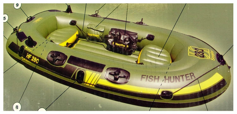 Sevylor Fish Hunter HF 280 ponton 2+1 259x122 cm