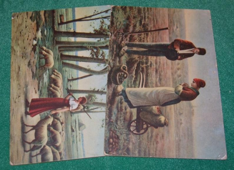 Na wsi- przedwojenne pocztówki wydawnictwa Stengel