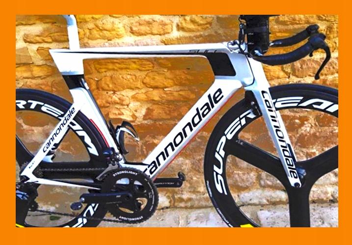 NOWA Cannondale SLICE RS rama karbon Triathlon TT
