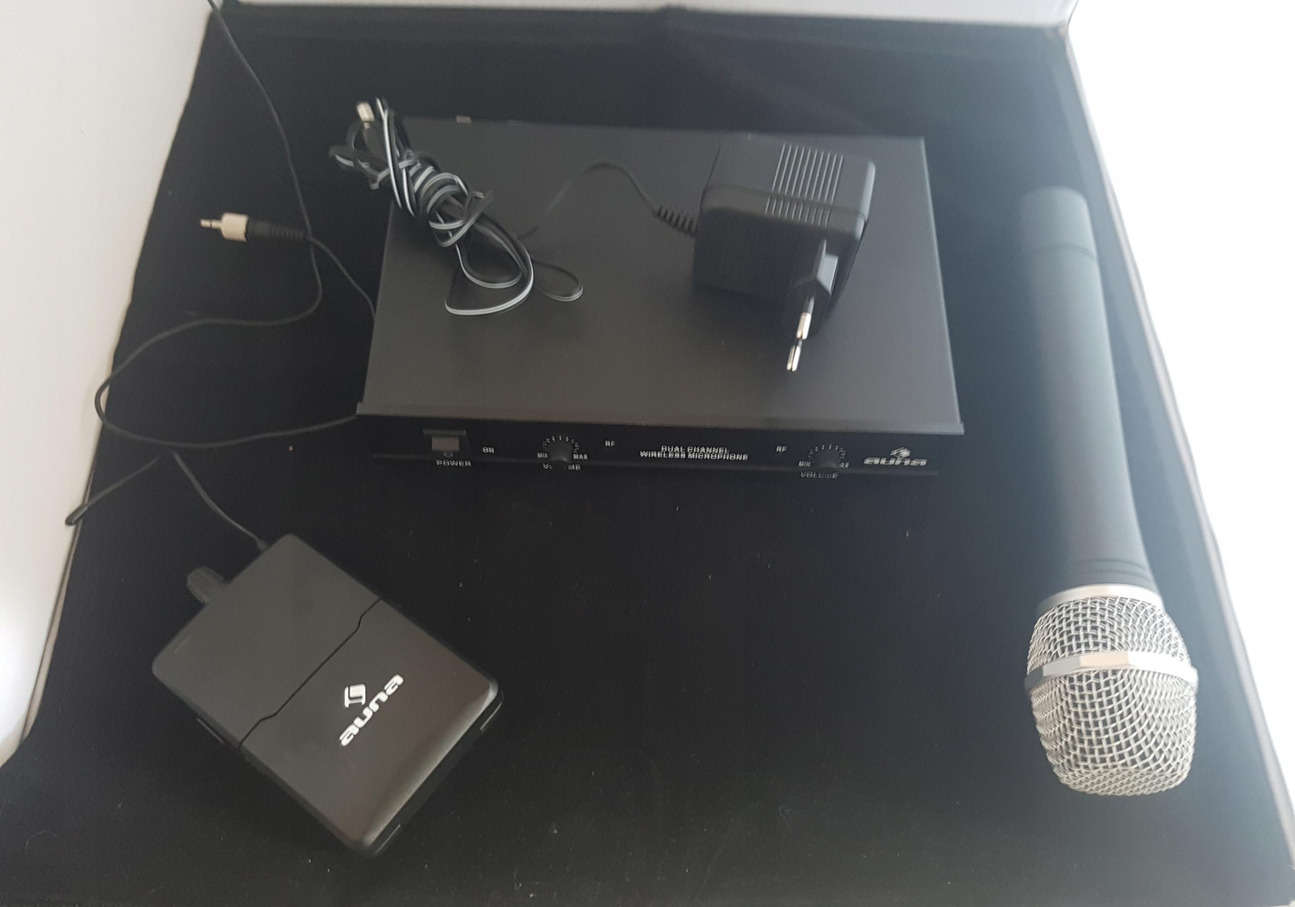 Zestaw mikrofonowy 2-kanałowy radiowy Super Oferta