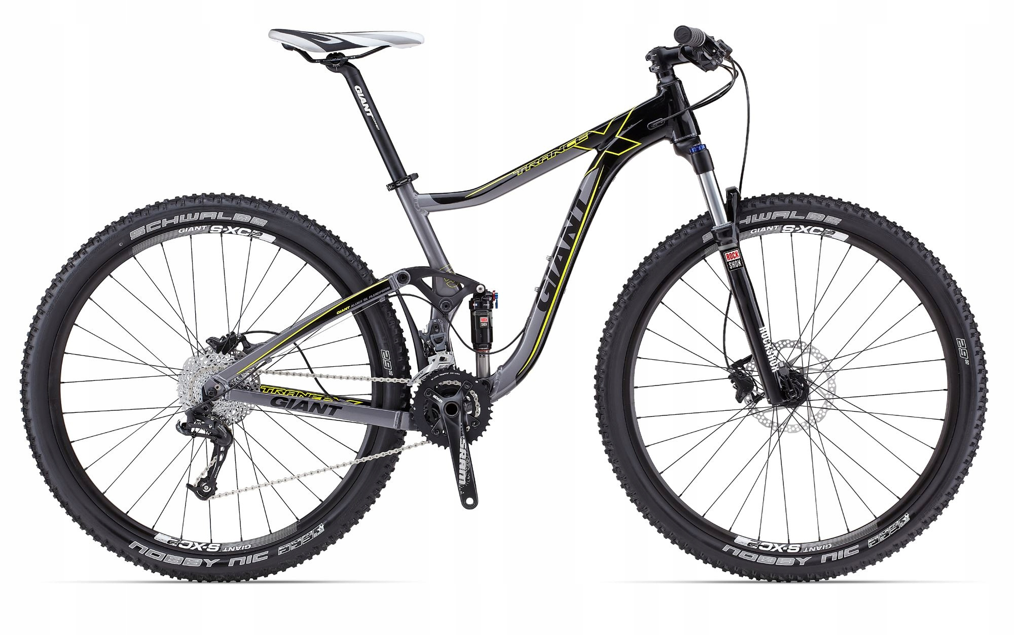 Giant TRANCE X 29er Full 120mm za 1/2c (trek scott