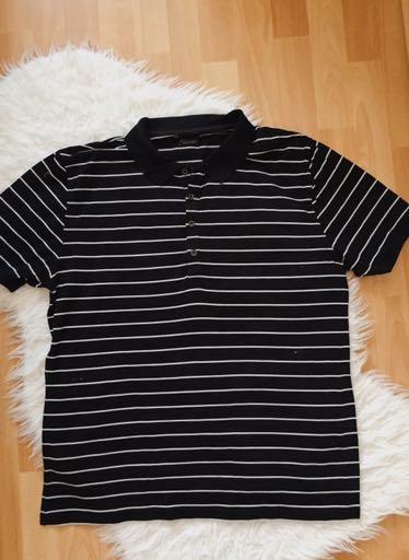 Koszulka polo w paski Zara #197