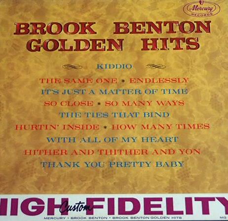 Brook Benton - Golden Hits (Lp U.S.A.1Press)