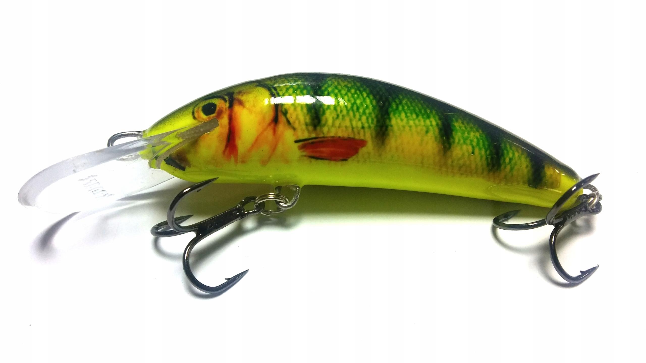 Wobler Kenart Fox 8cm 12g pływający troć