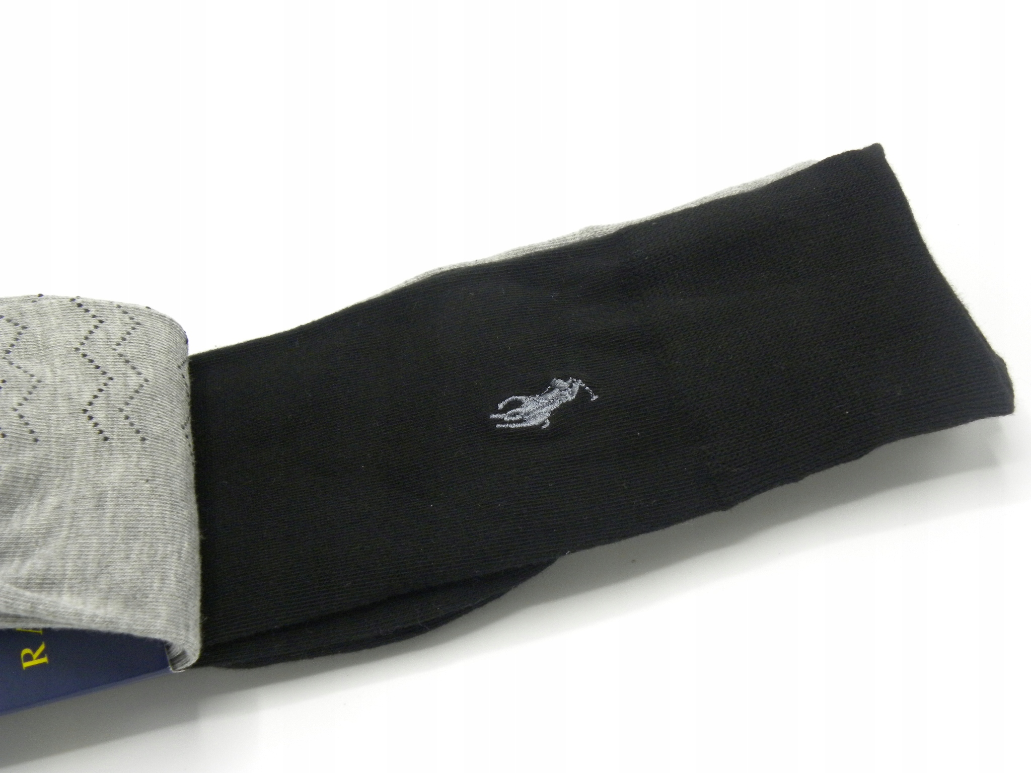 Polo Ralph Lauren 3 pary wysokie skarpetki