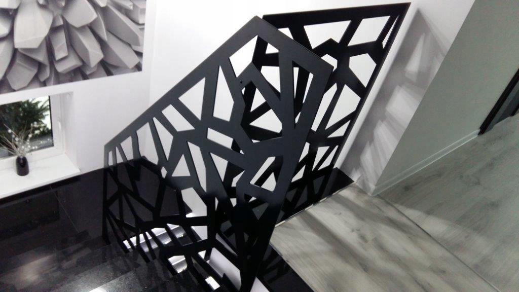 Balustrada Wycinana Laserowo Panel Ażurowy Blacha