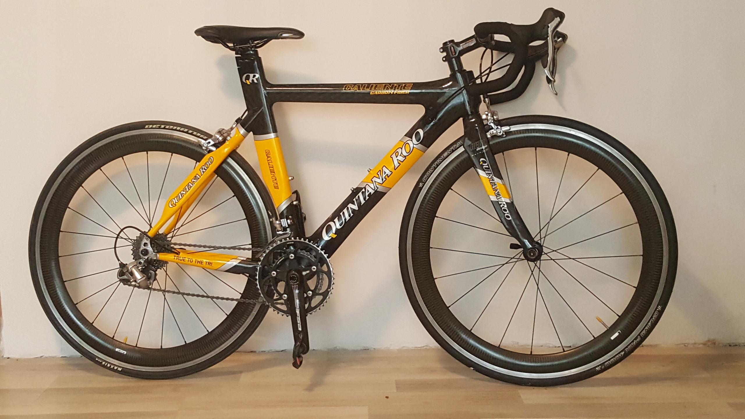 QUINTANA ROO CARBON rower czasowy triathlon ideał!