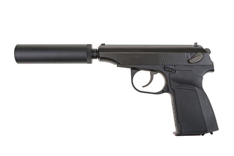 Pistolet MK z tłumikiem - ASG | REPLIKA