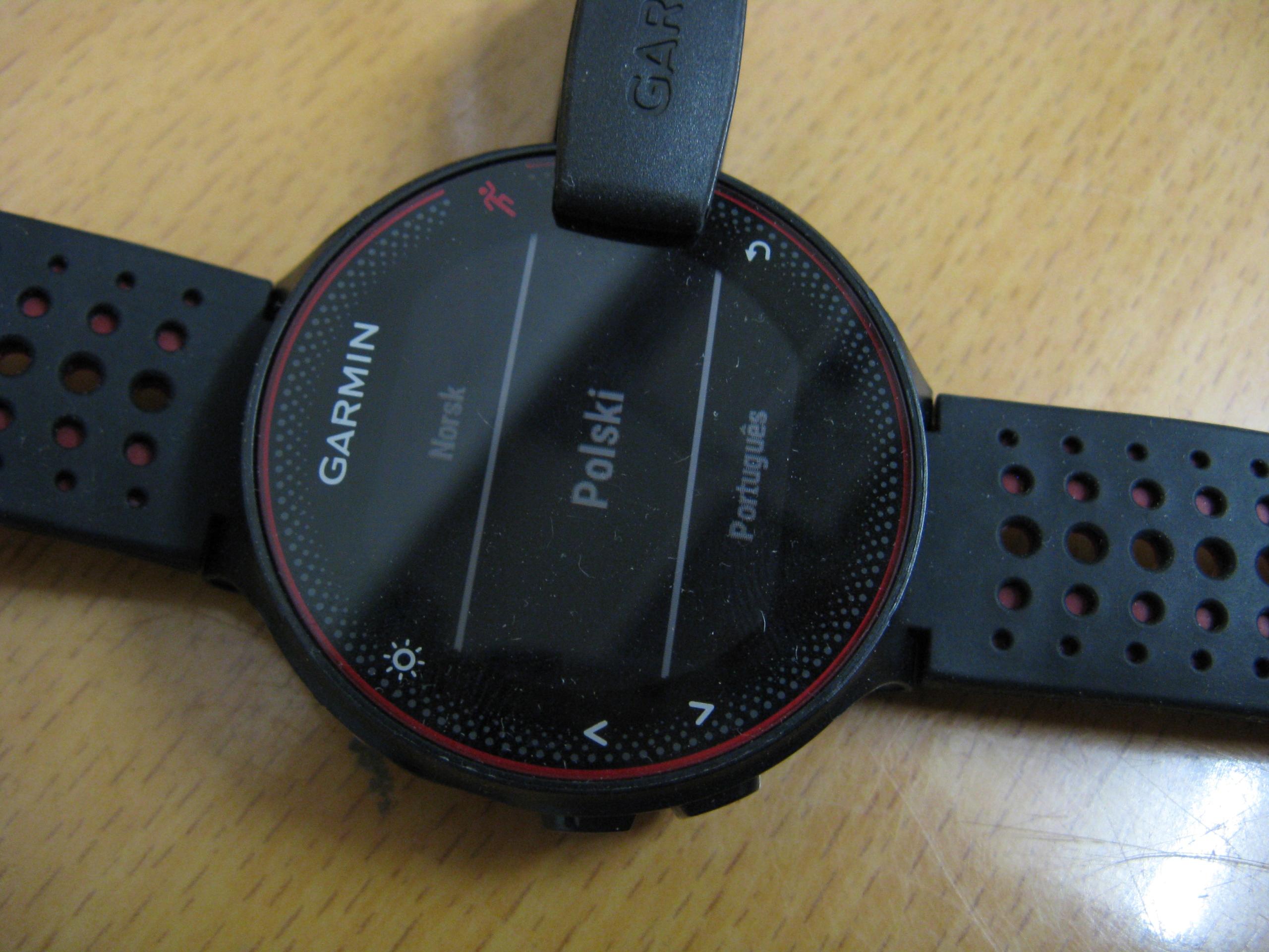 GARMIN FORERUNNER 235 ZEGAREK PULSOMETR GPS