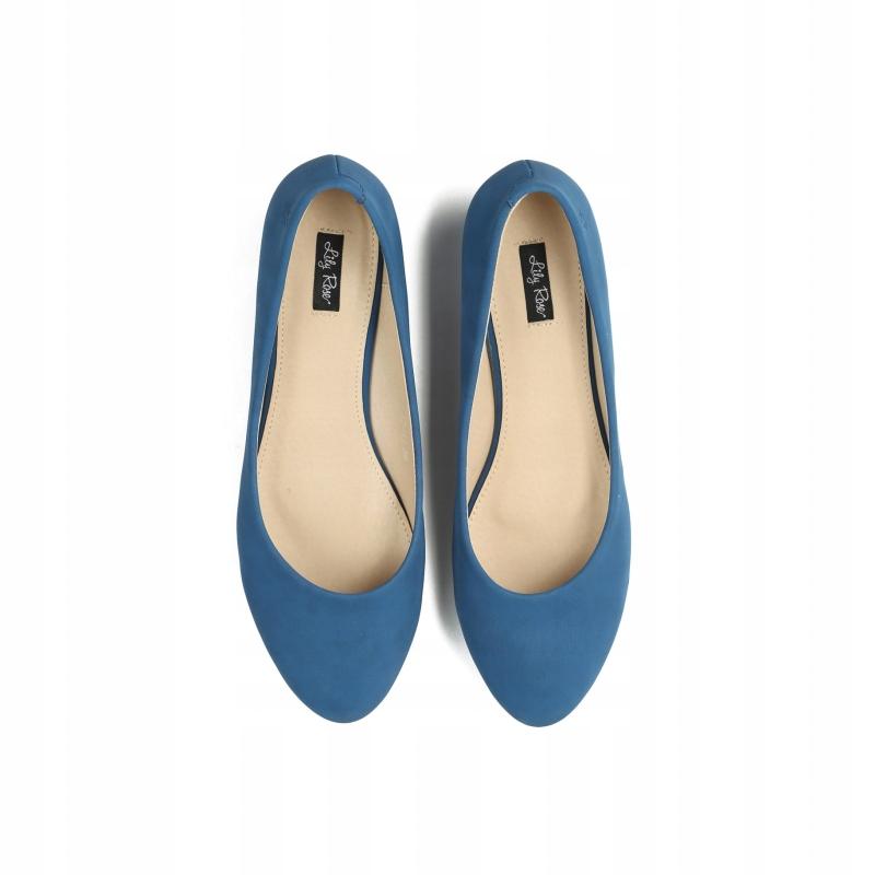 Niebieski Eleganckie Balerinki Vices Women Blue 35