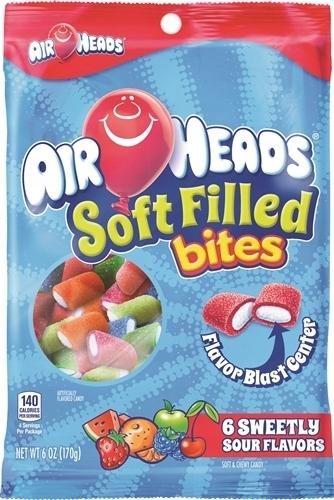 AirHeads Bites Gumy Rozpuszczalne kwaśne owocowe