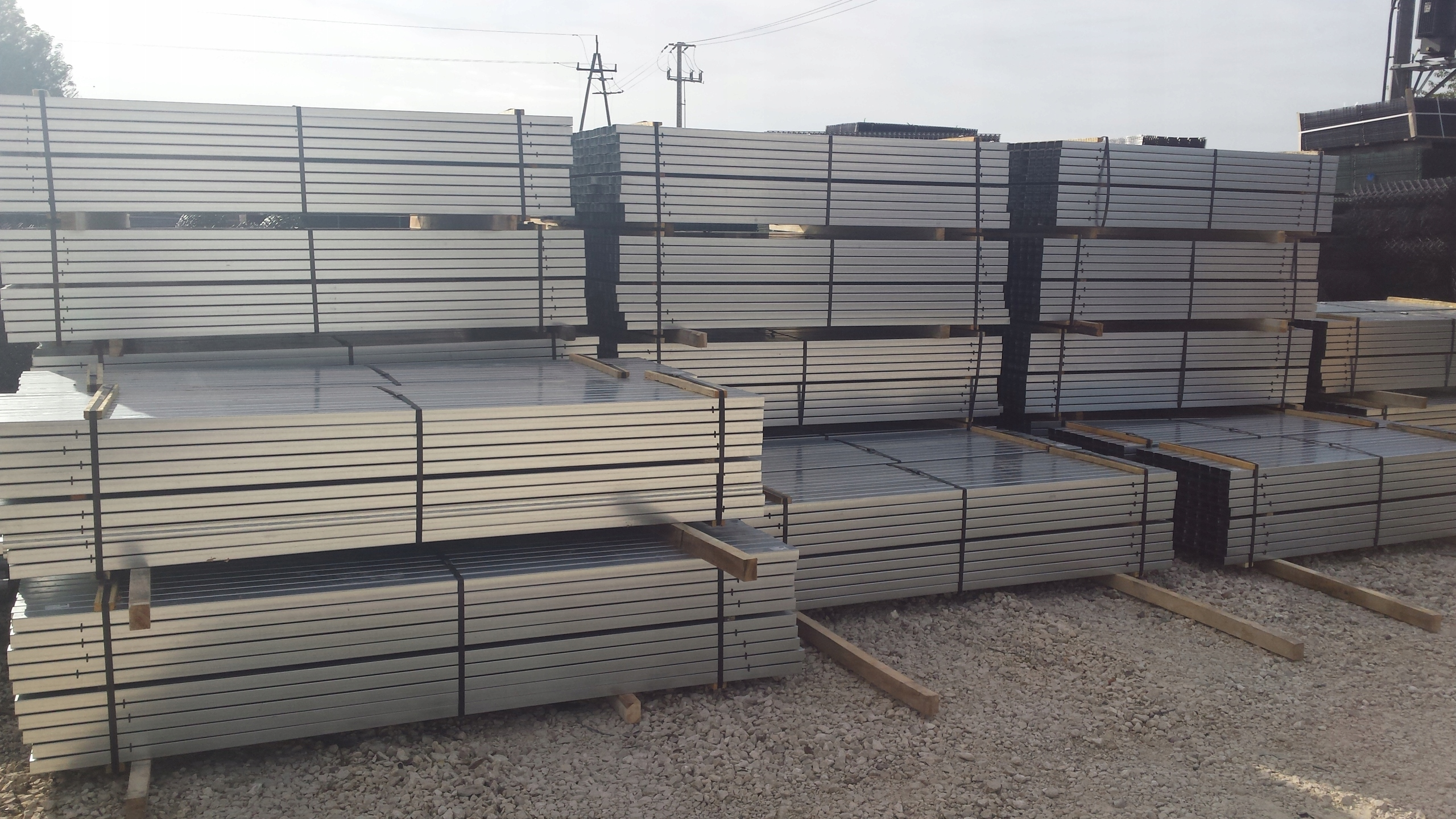 W Ultra Słupki ogrodzeniowe ocynkowane do paneli 2,6 m - 7873182663 ZB93