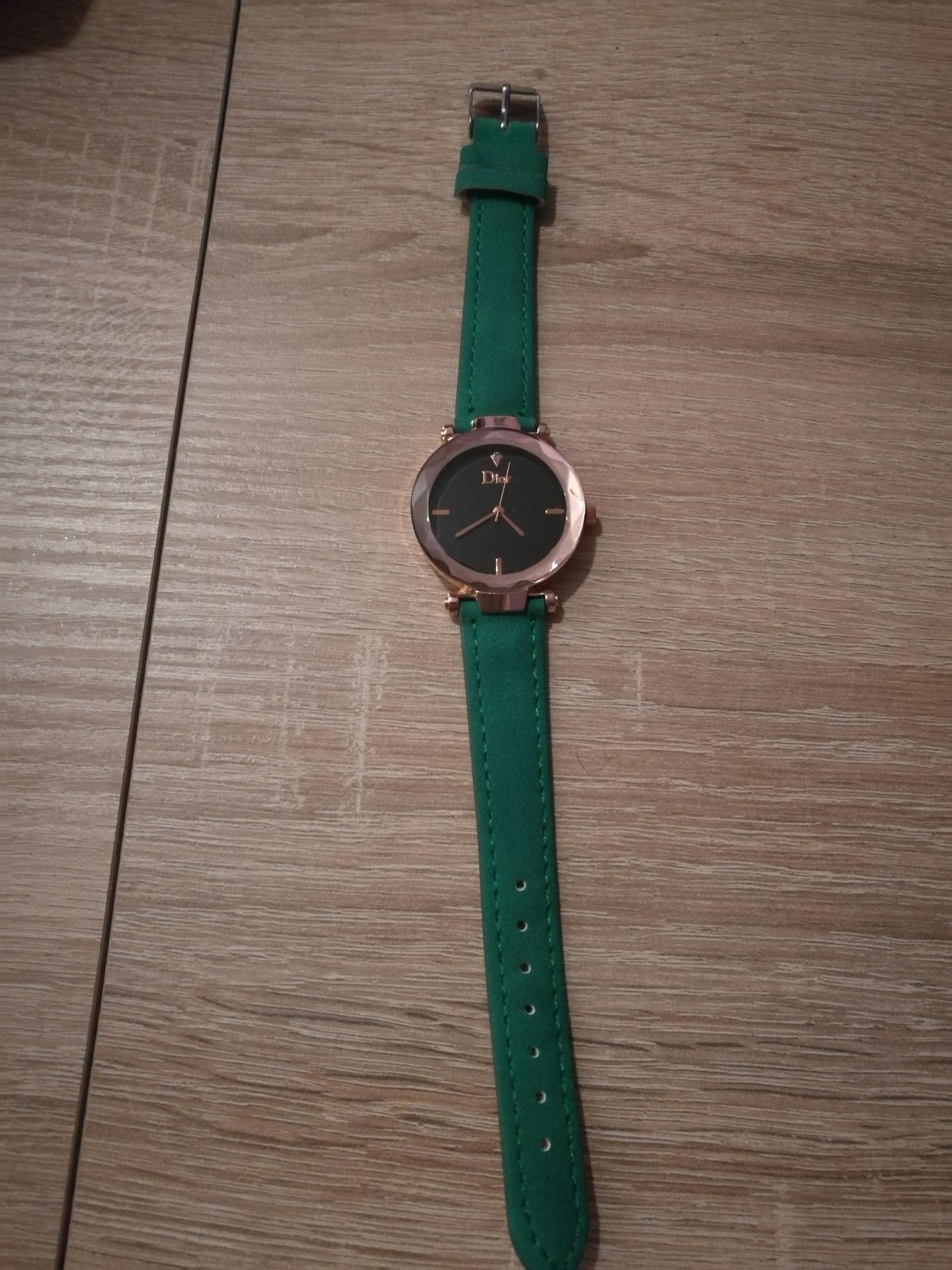 Zegarek Damski Dior Zieleń