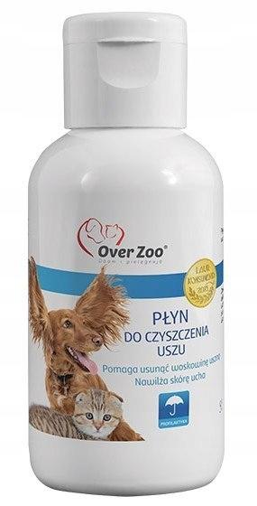 Over Zoo Płyn do czyszczenia uszu dla psa i kota 5