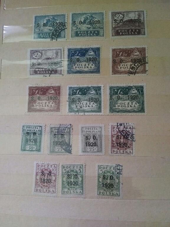 znaczki 1920