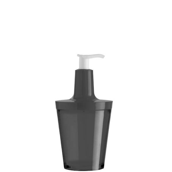 Dozownik do mydła, czarny Koziol Flow