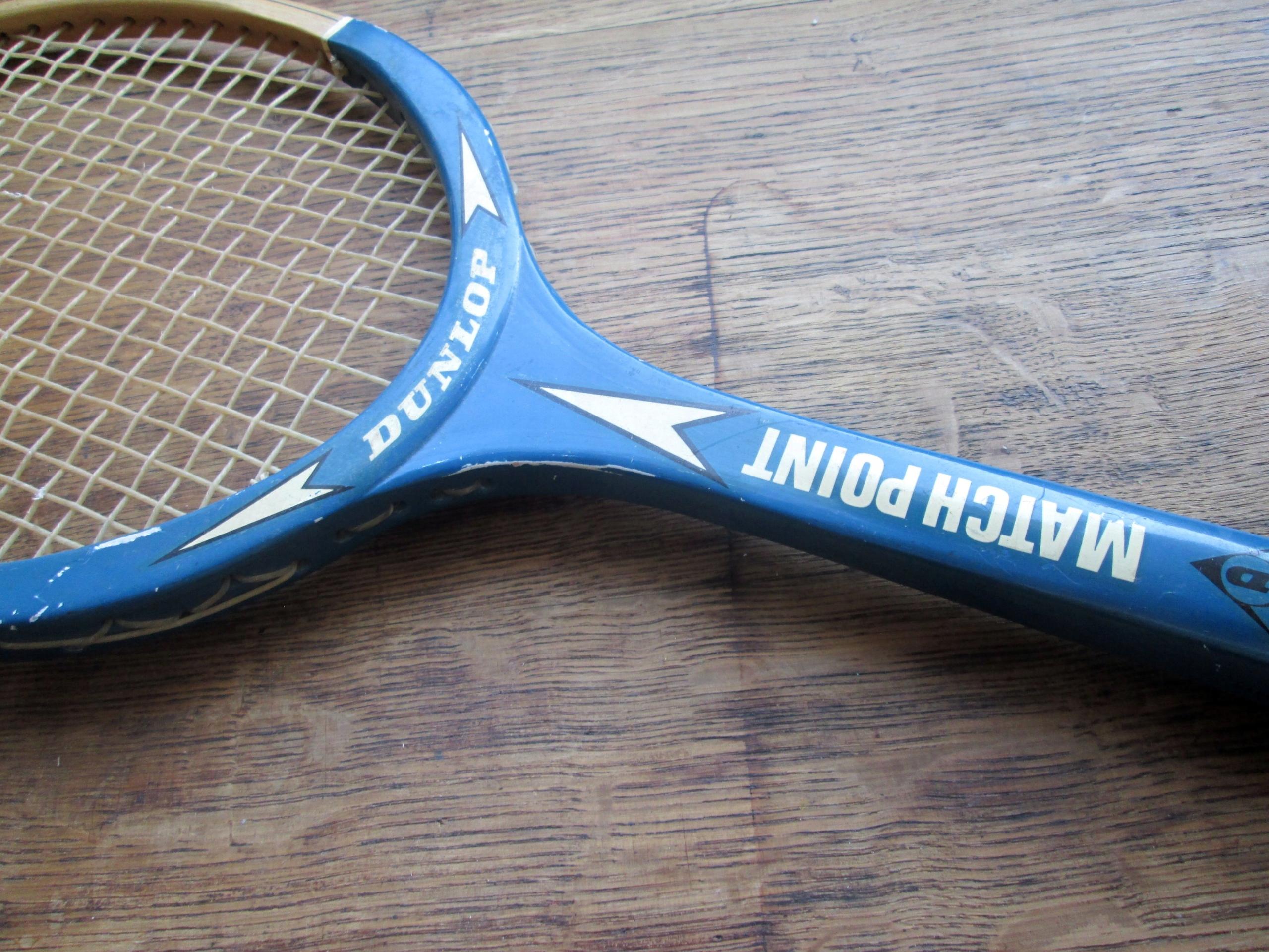 *** stara rakieta tenisowa *** DUNLOP ***