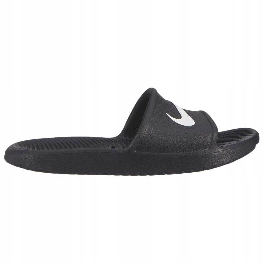 Klapki Nike Kawa Shower BQ6831 001 - CZARNY 38 1/2