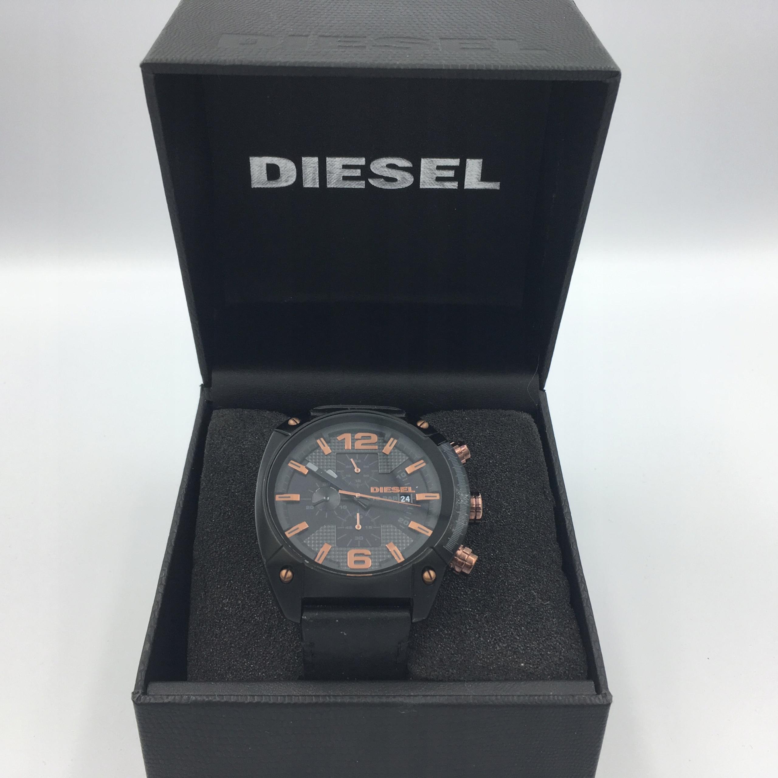 6 Diesel 4462 zegarek oryginał pasek skóra okazja