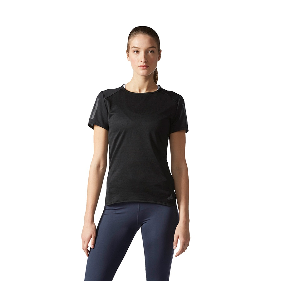 Koszulka adidas Response Short Sleeve Tee M czarny