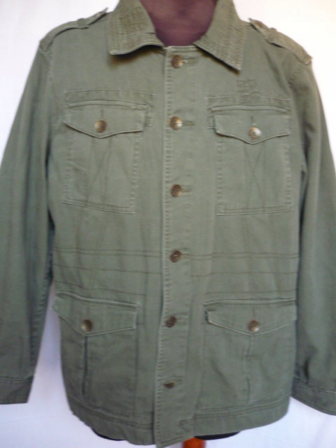AUTHENTIC FATIGUES KURTKA zielona militarna 56-58