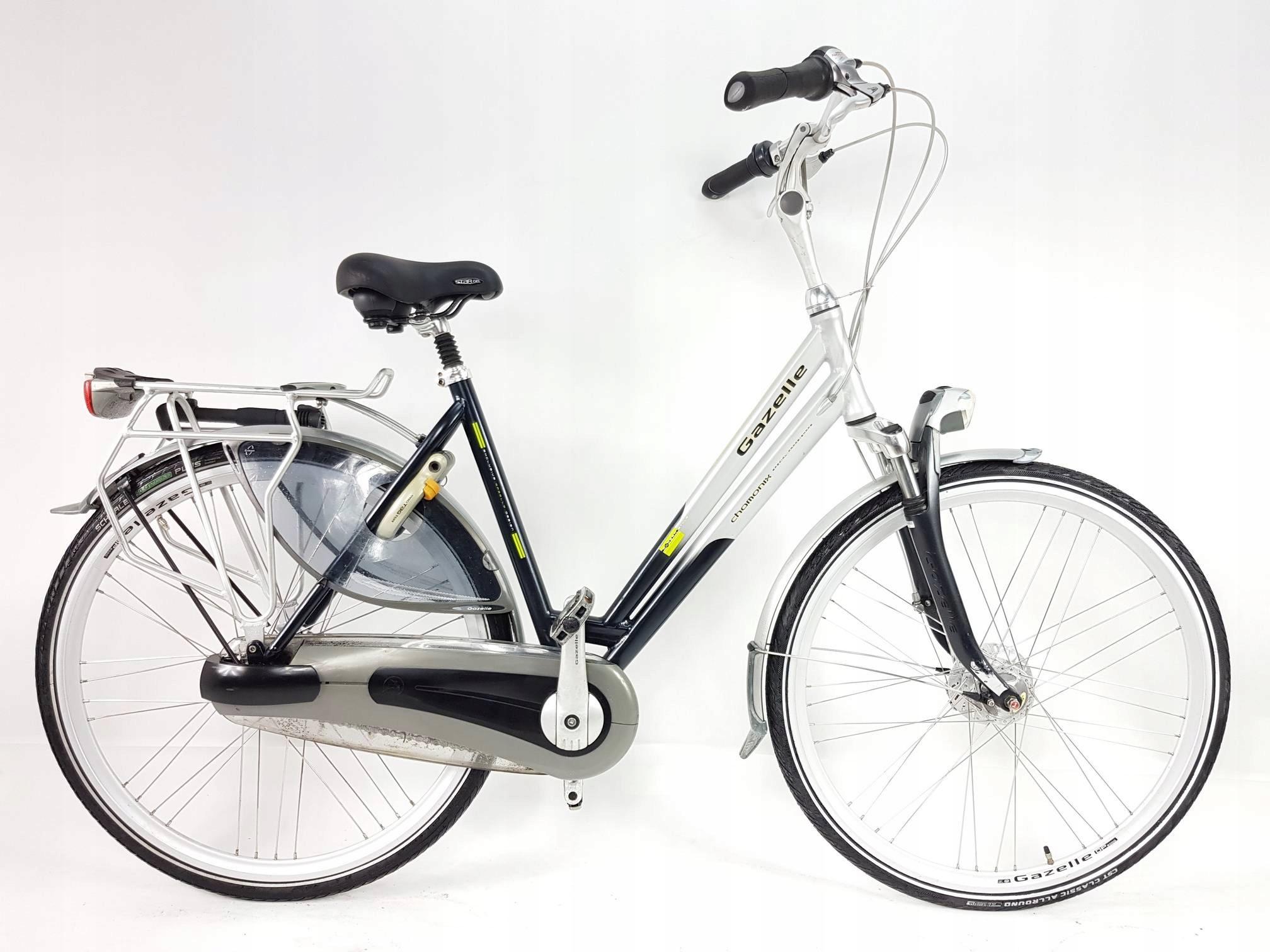 Gazelle Chamonix Plus, rower holenderski, Nexus 8