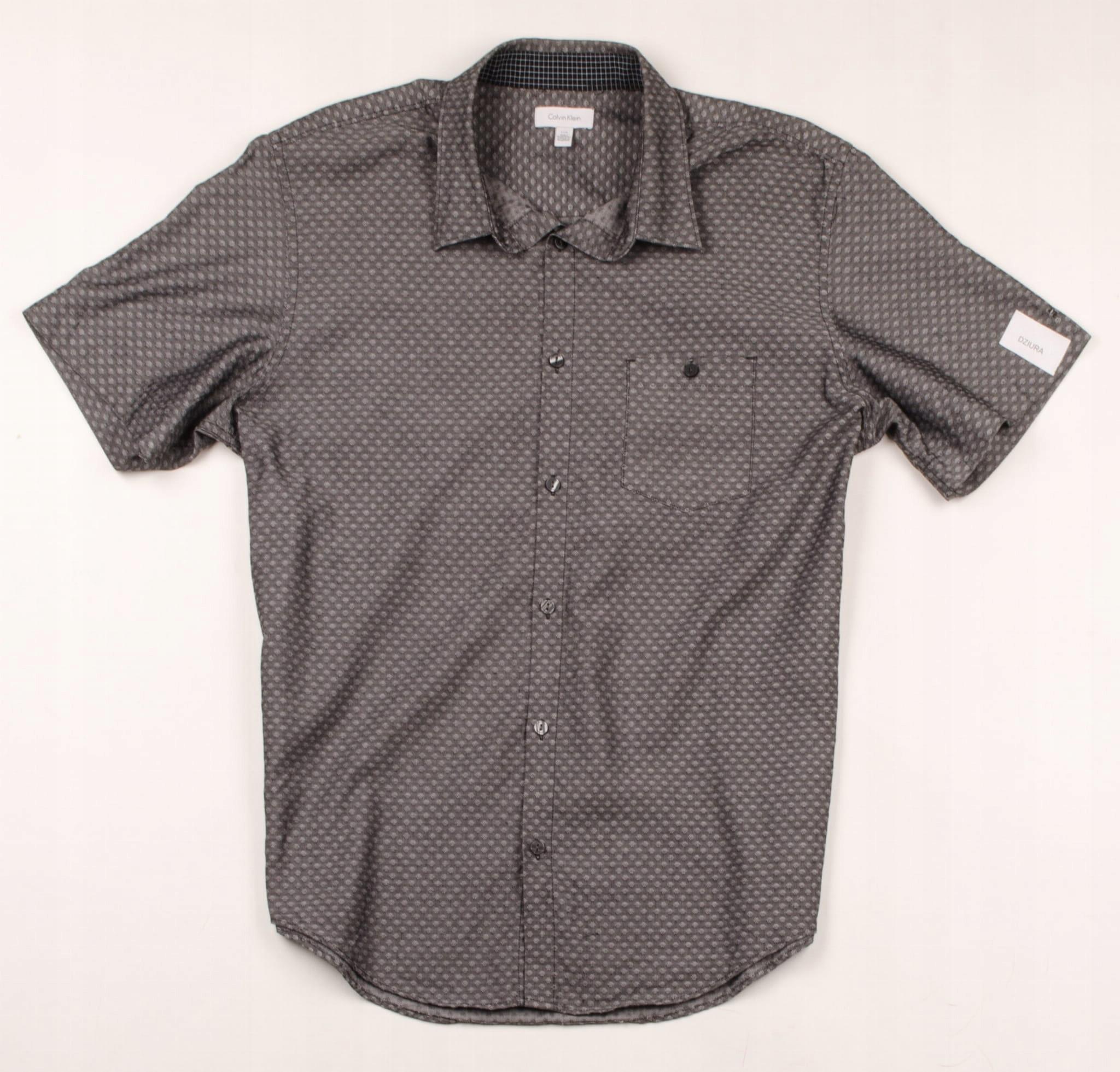 36086 MICRO WADA Calvin Klein Koszula Męska L