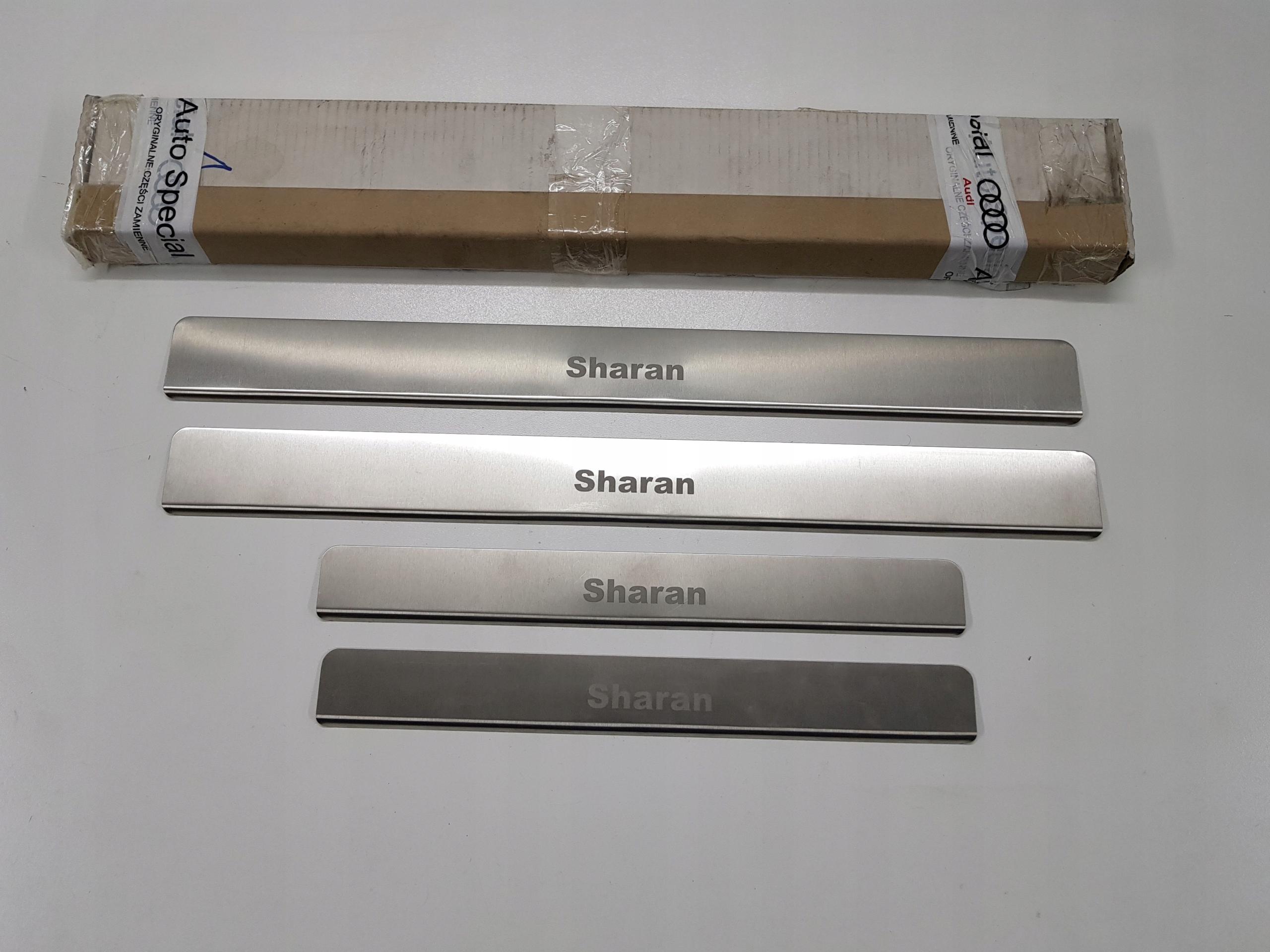 Listwy na progi VW Sharan 2010>> Oryginalne
