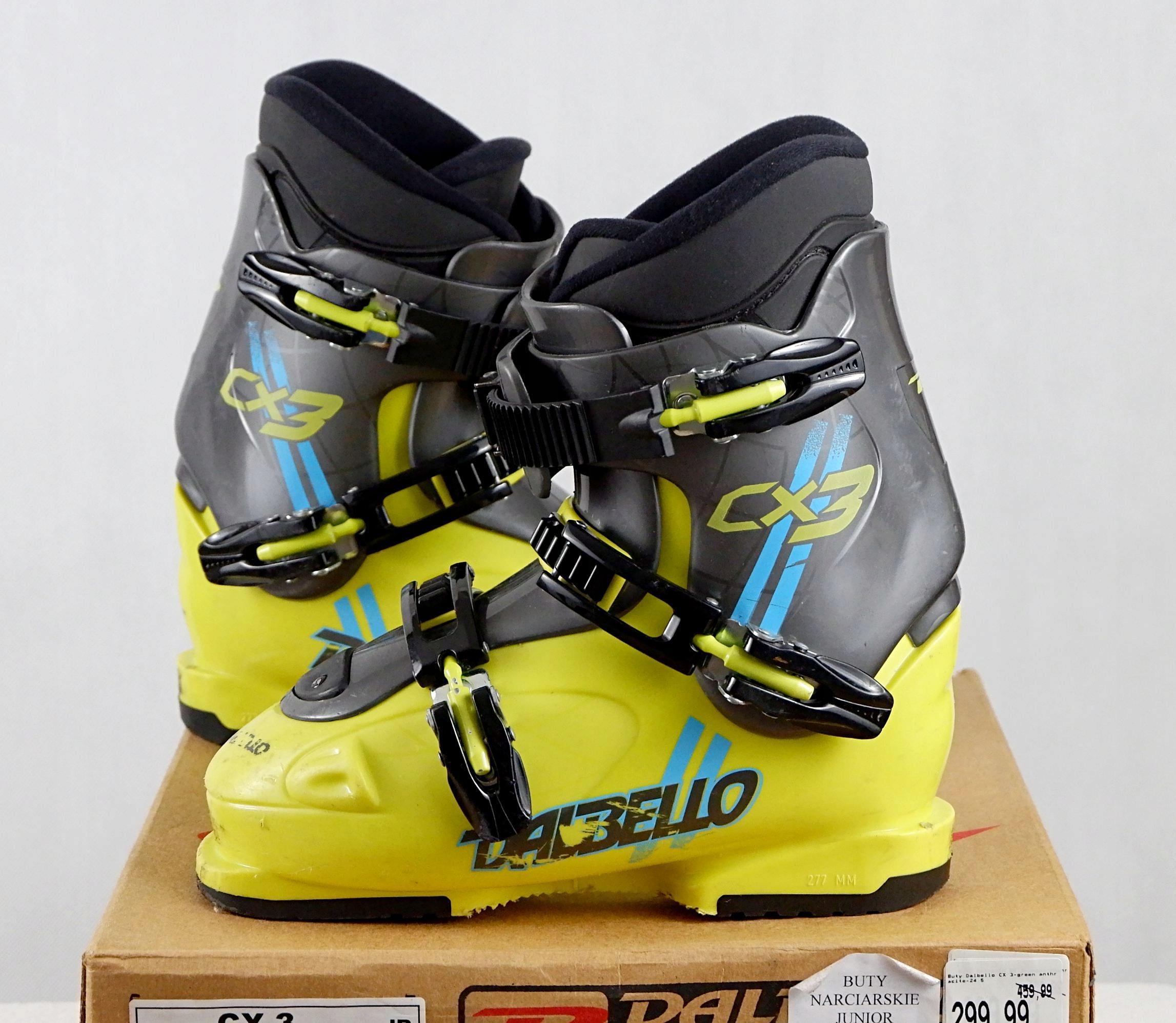 DALBELLO CX 3 JUNIOR buty narciarskie 277mm 38