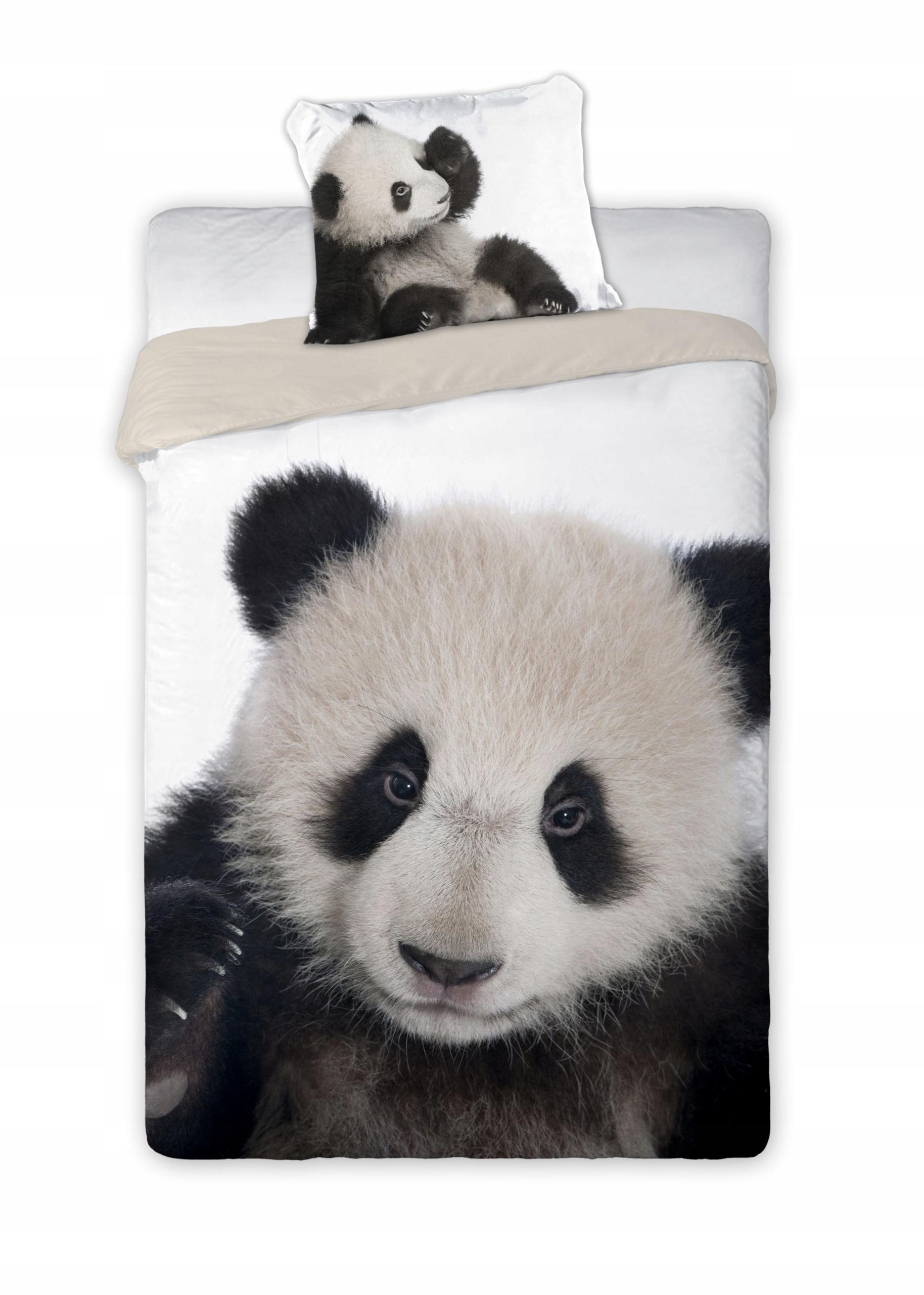 Pościel Wild Panda 160x200 cm Faro