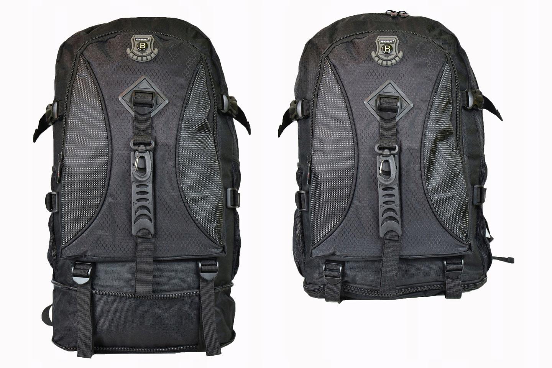 Plecak Turystyczny Górski 45+10=55 LITRÓW. KOLORY