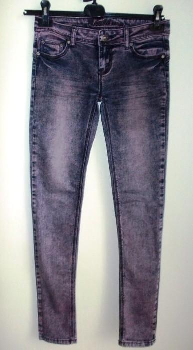 Spodnie rurki skinny jeansowe Fishbone ( 36 / 38 )