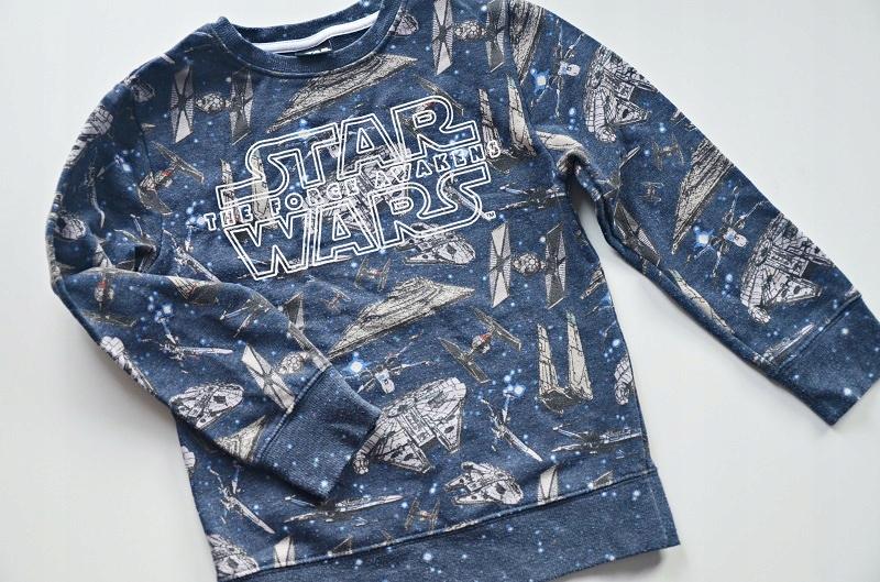 Bluza bawełniana Star Wars Next 122 cm