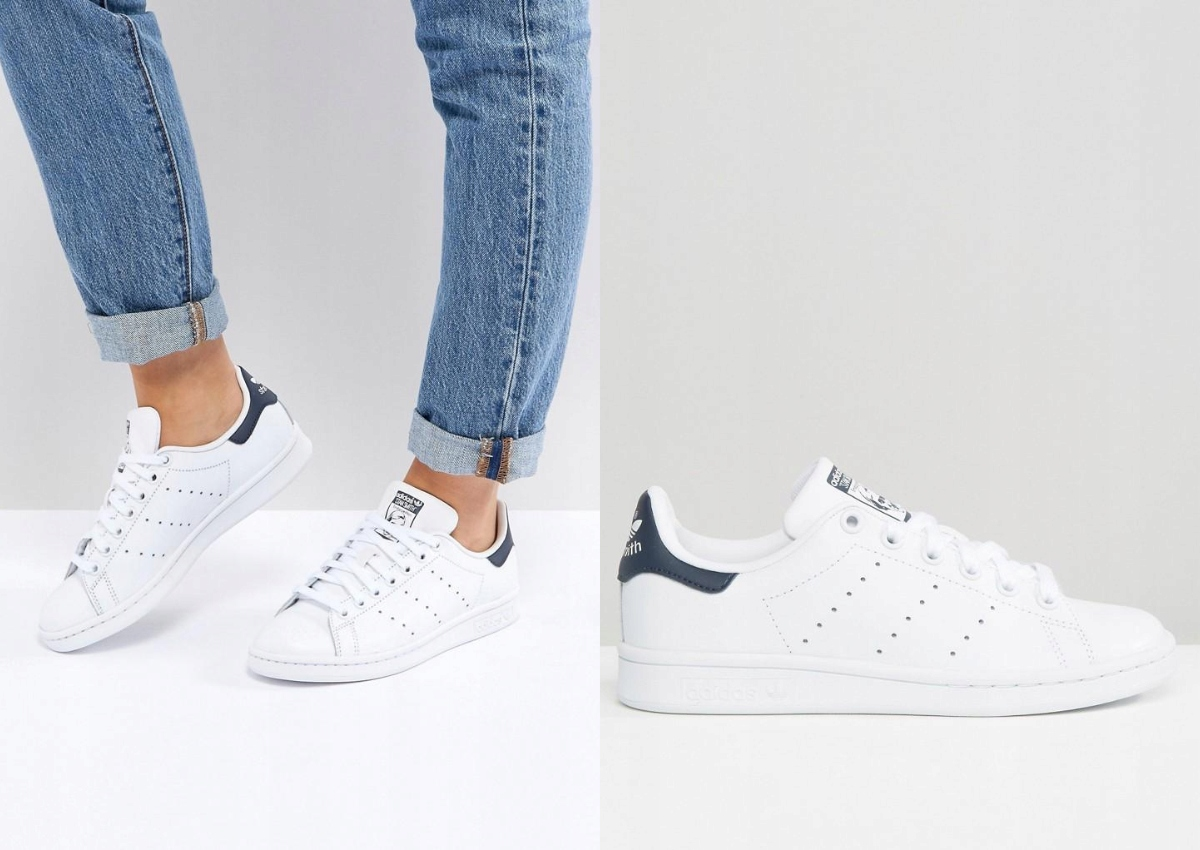 adidas originals stan smith leather trainers m20324