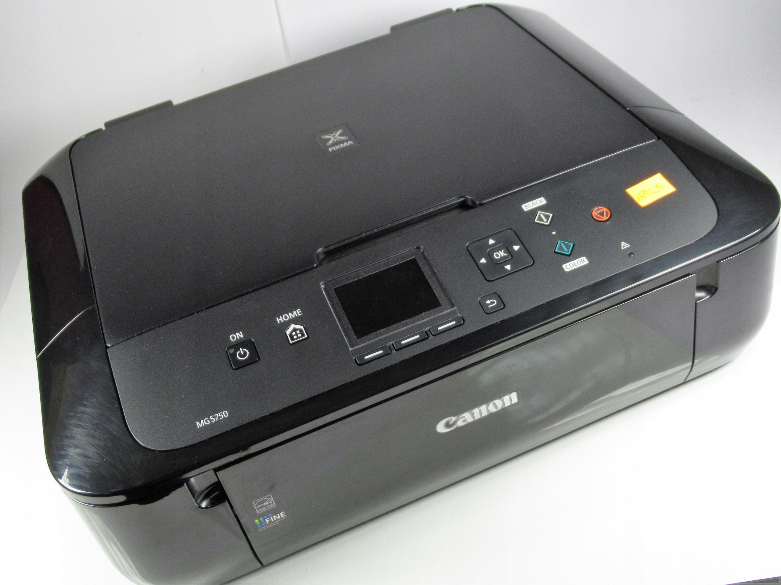 KRFB208 CANON Pixma MG5750 czarna (WIFI, DUPLEX)