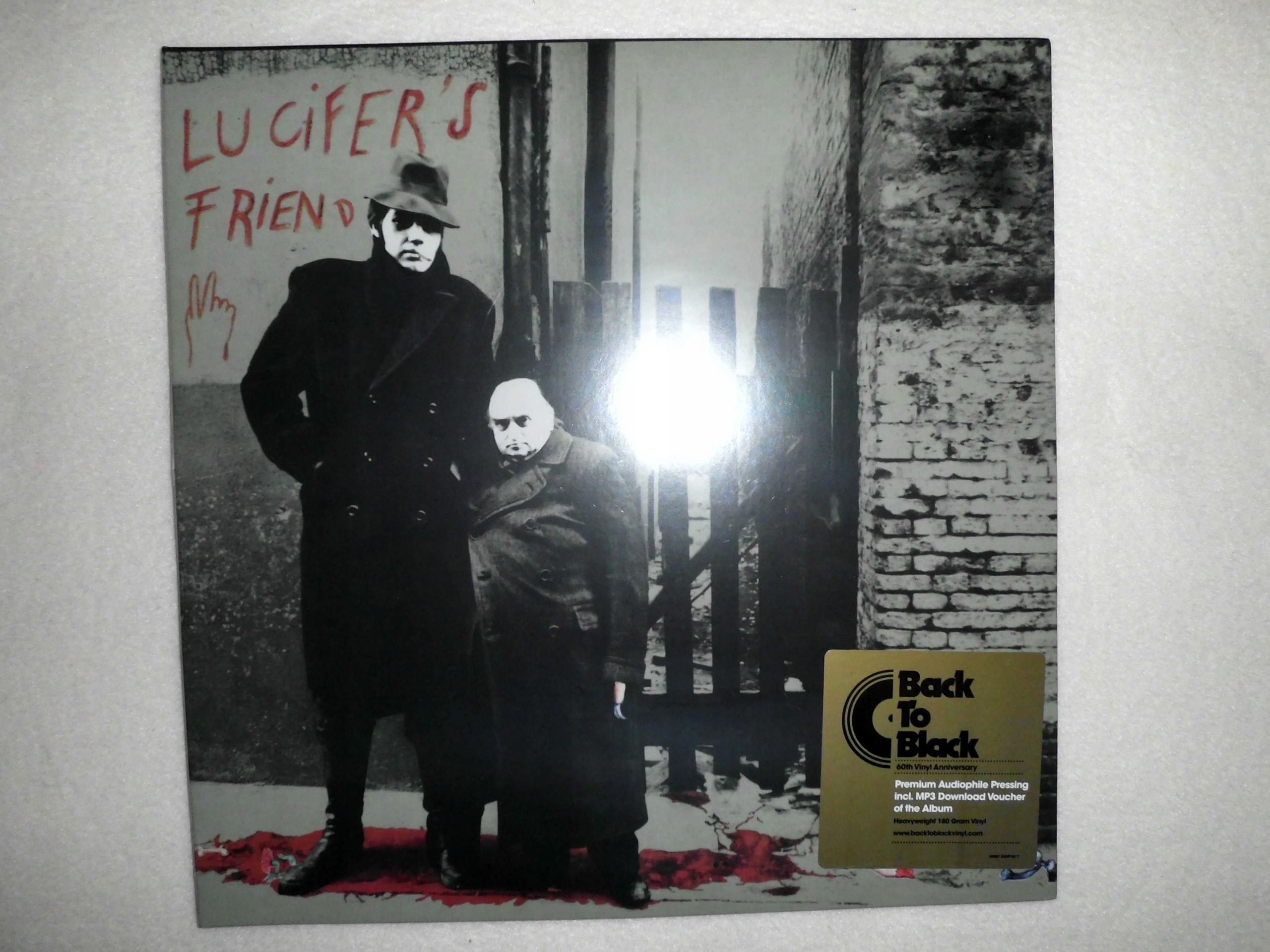 LUCIFER'S FRIEND S/t (1970) LP 180 gr 2010 NOWA