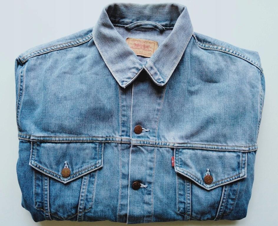 Levis męska kurtka jeansowa rozmiar XXL
