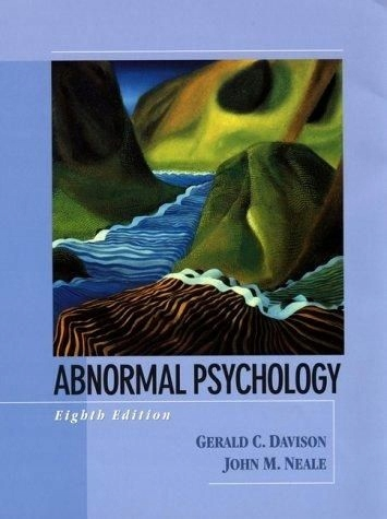 Abnormal Psychology / Davison, Neale