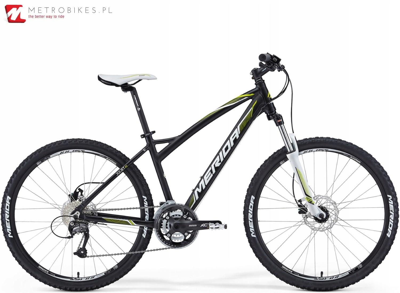 Rower górski Merida Juliet 40-D czarno-zielony wyp