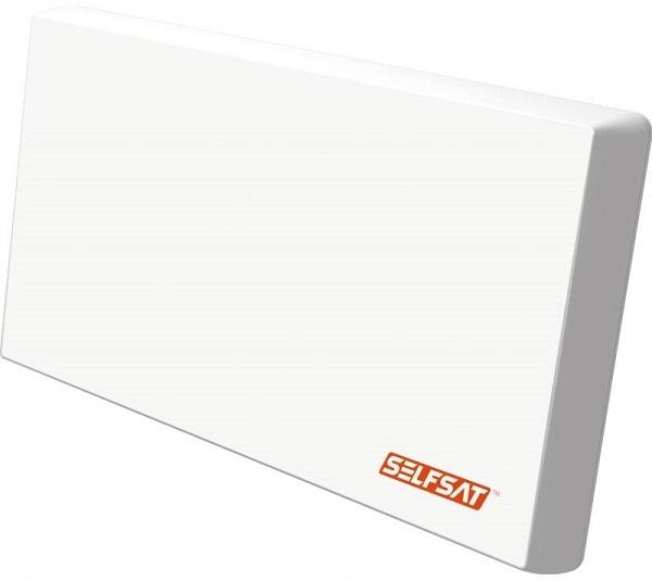 Selfsat H22DQ+ antena płaska - z LNB Quattro