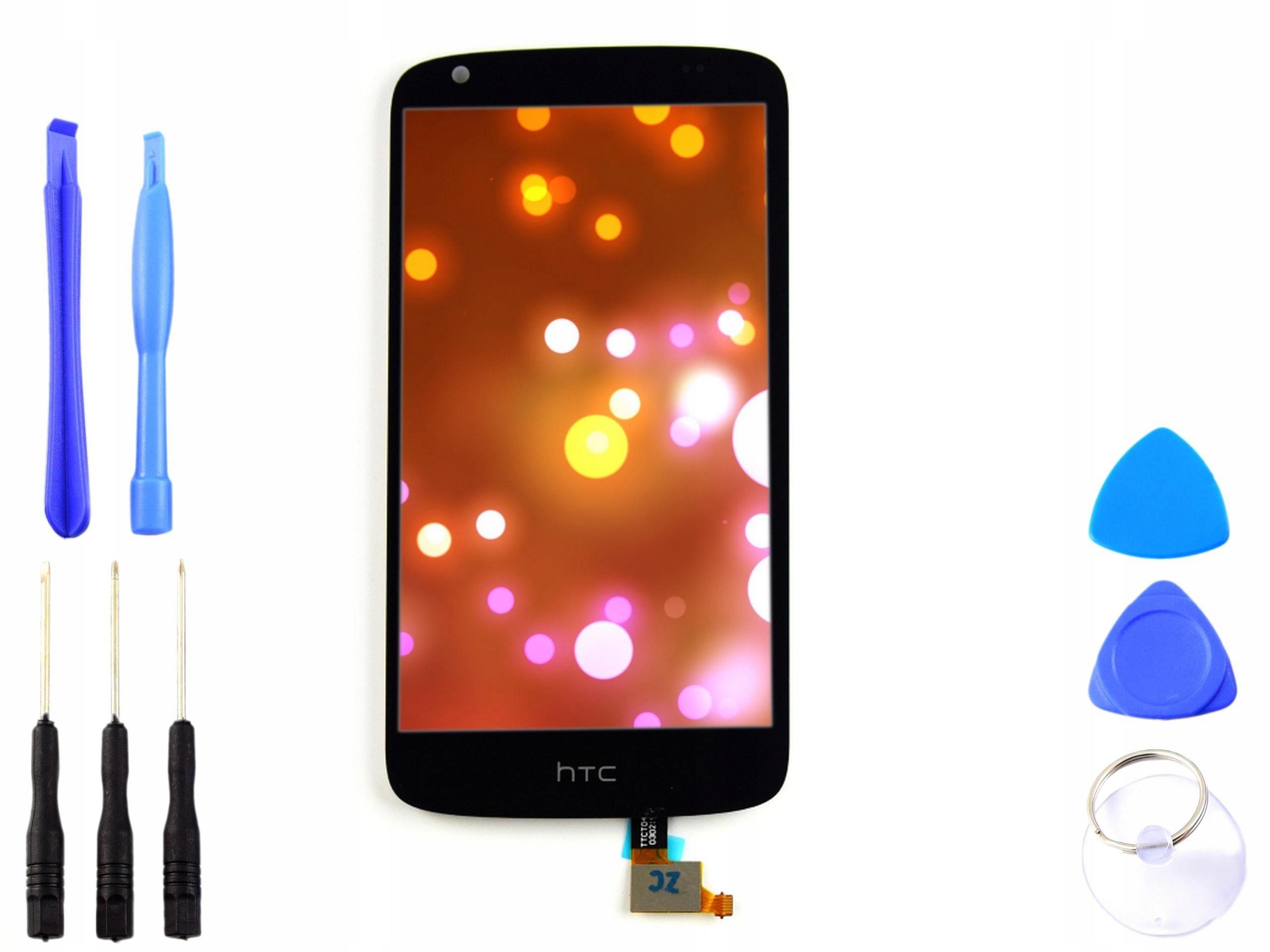 Wyświetlacz LCD digitizer HTC DESIRE 526 czarny