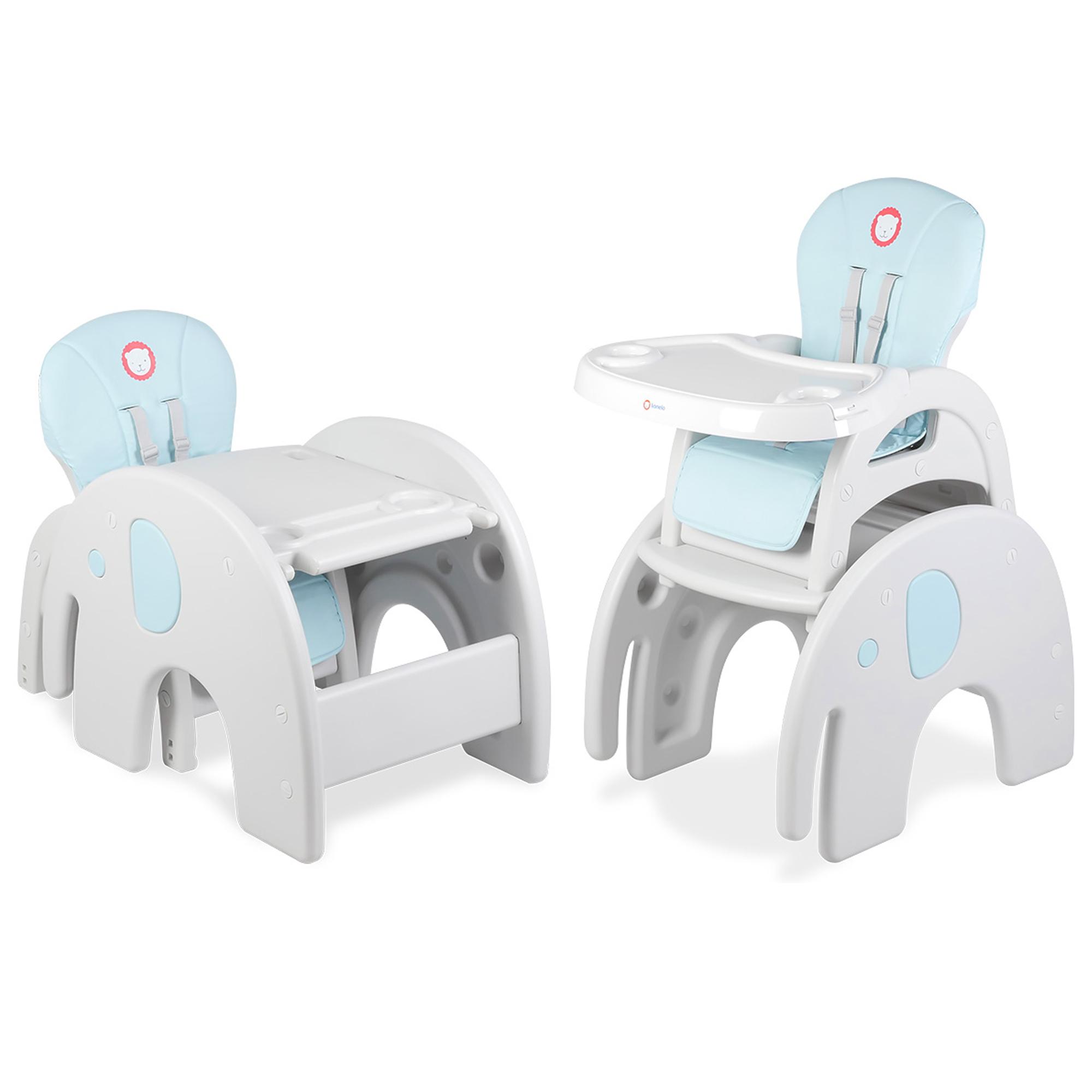 Krzesełko do karmienia Lionelo Eli stolik 5w1