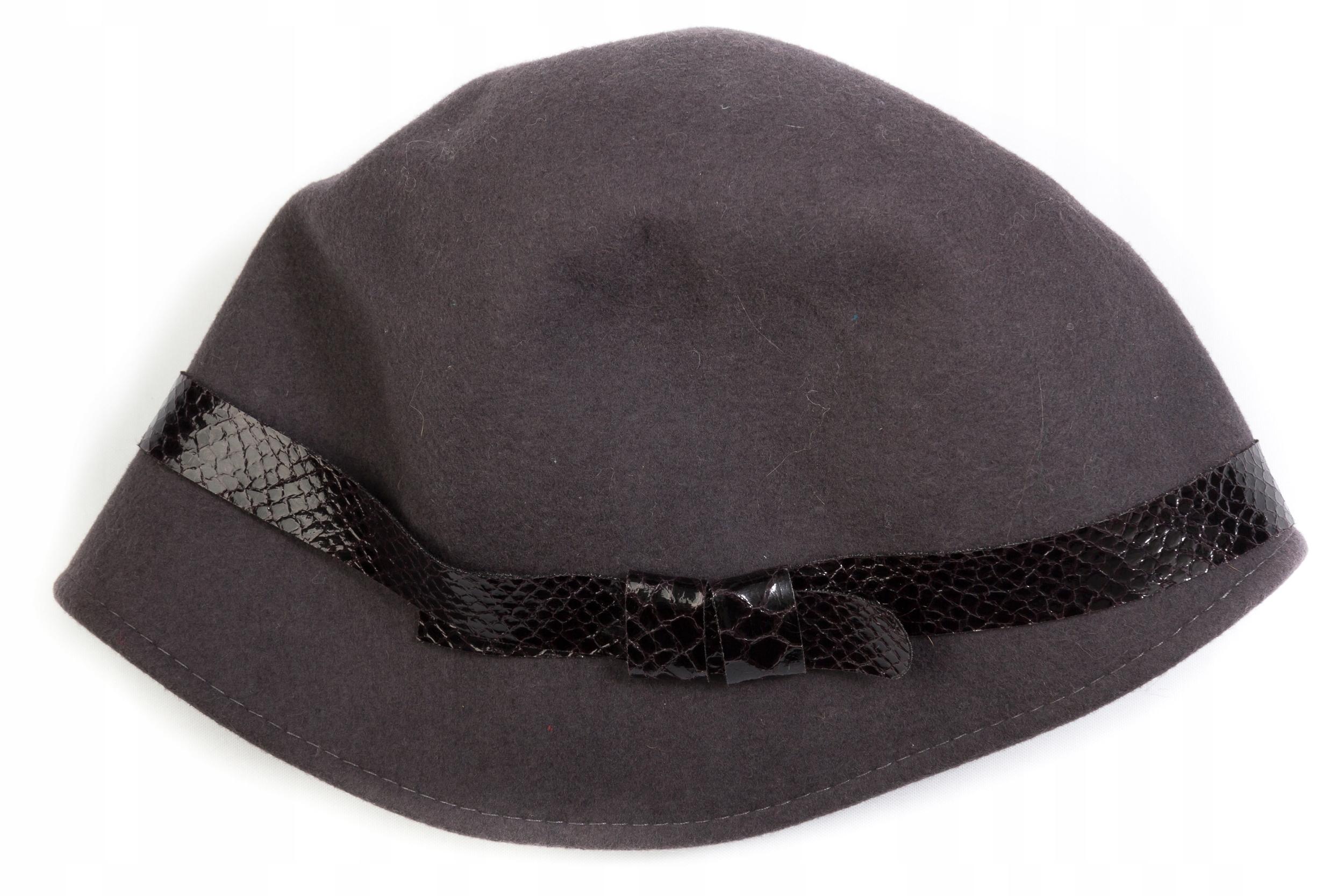 CAPOGIRO - oryginalny włoski kapelusz wełniany